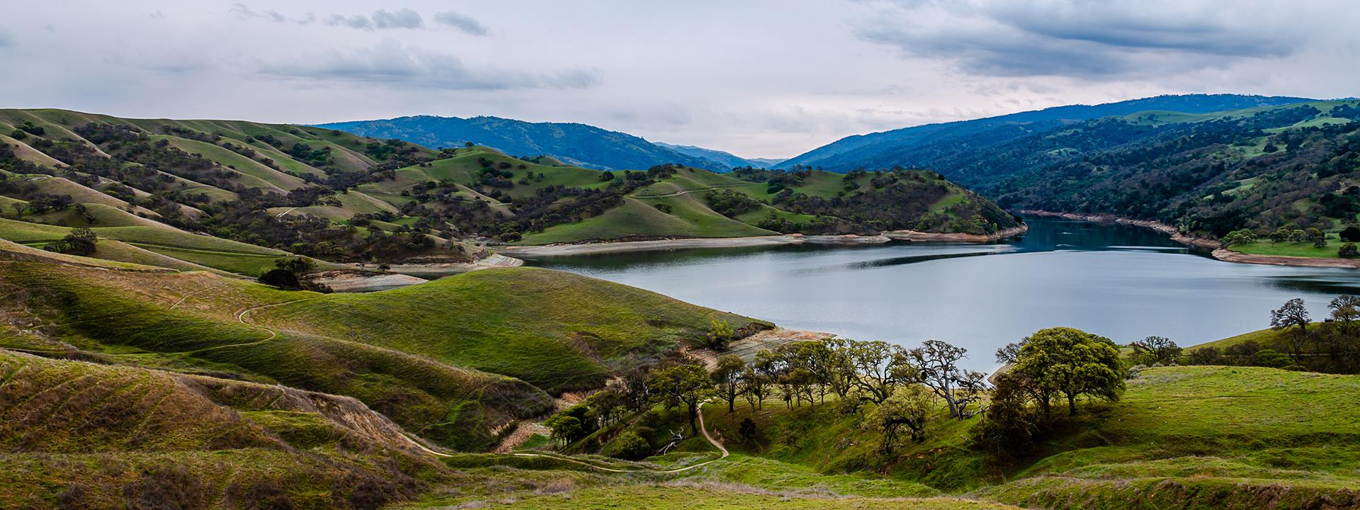 View of Lake Del Valle Regional Park